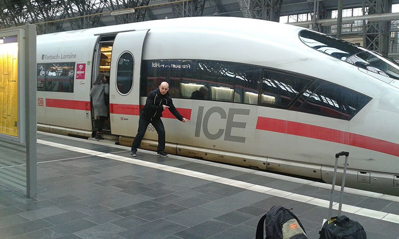 ICE Train another new travel experience