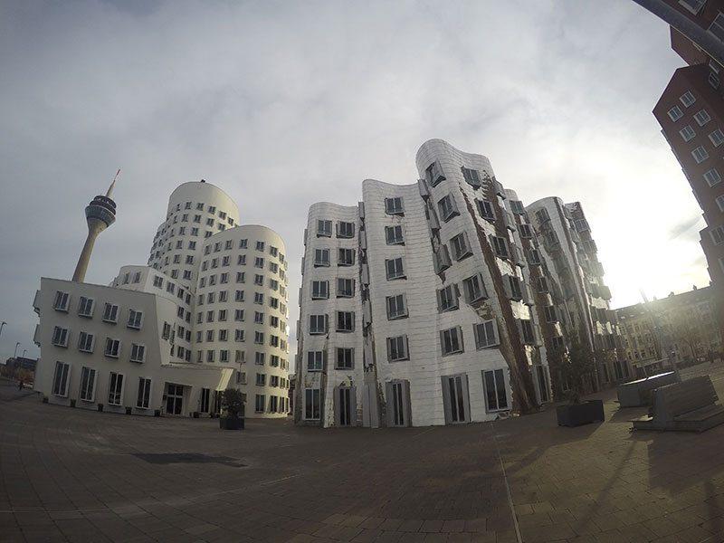 Gehry buildings Dusseldorf