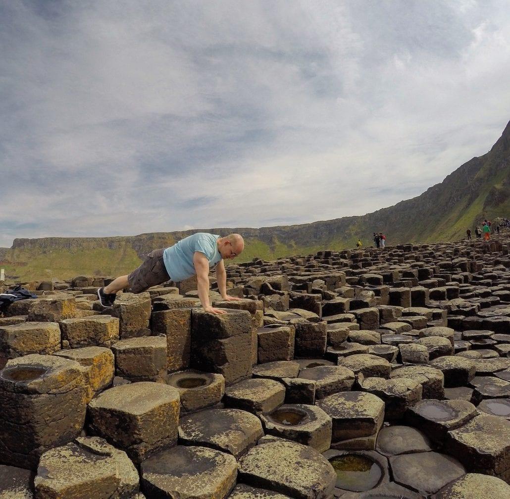 Fitness World Explorer Giant's Causeway tour from Dublin