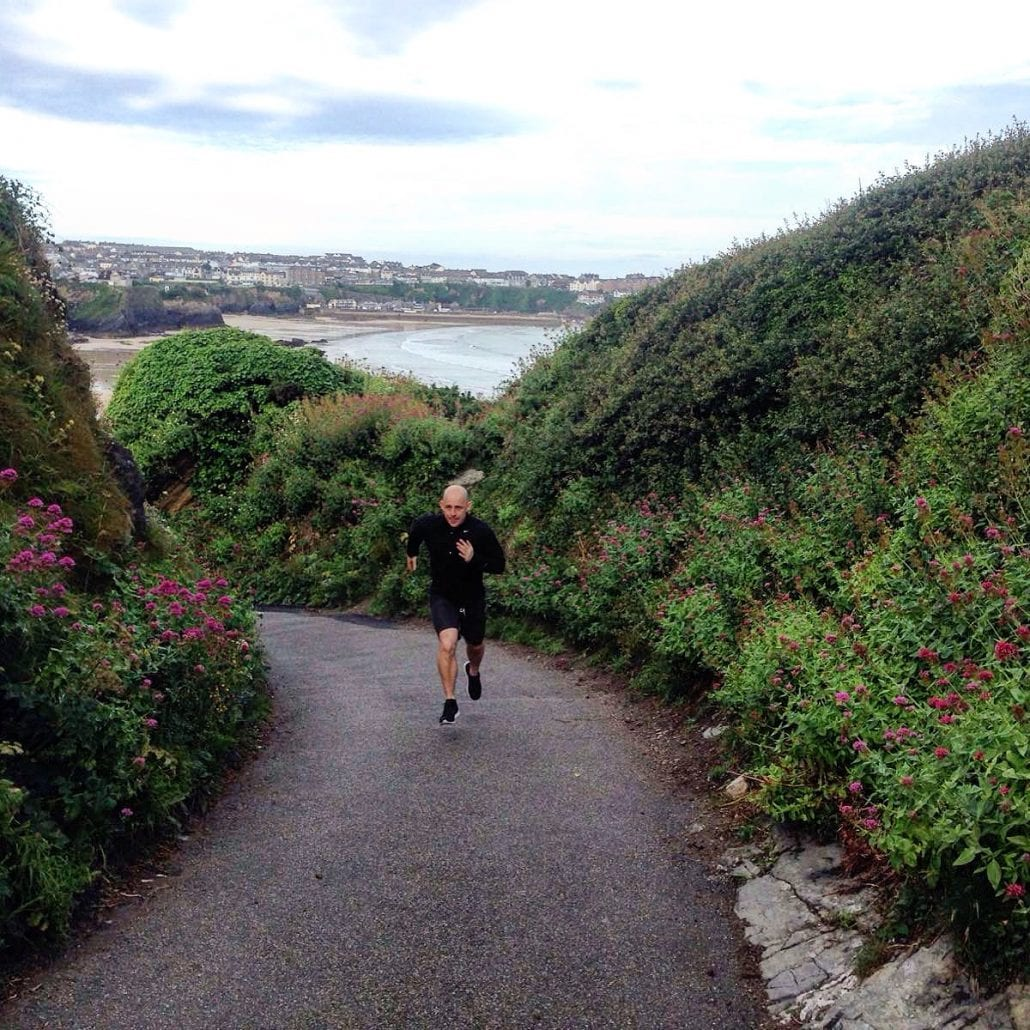 Running in Cornwall