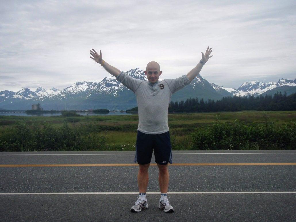 Running on arrival in Alaska