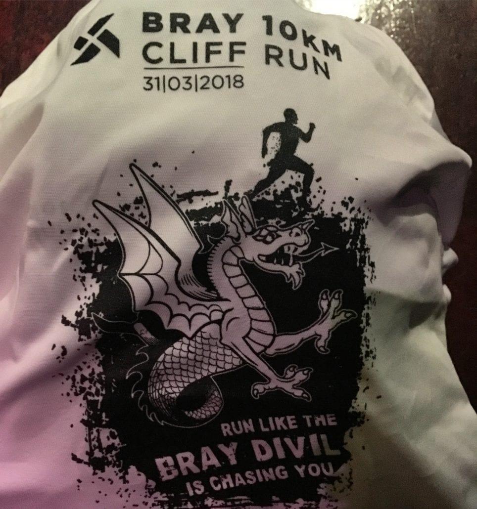 Bray 10k Cliff Run T Shirt