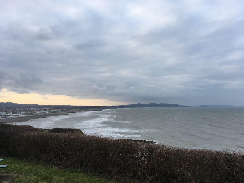 Bray Beachfront views